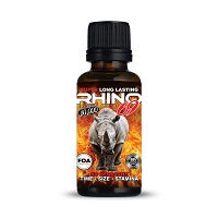 Rhino 69 Extreme 10K Fire 2oz Male Enhancement Shot 12ct Display