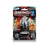 Rhino 7 Platinum 69K Male Enhancement 24ct Display