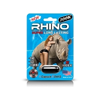 Rhino 200K Male Enhancement 24ct Display