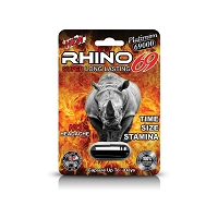 Rhino Platinum Fire 69K Male Enhancement 24ct Display