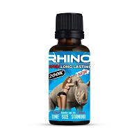 Rhino 200K 2oz Male Enhancement Shot 12ct Display
