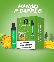 JOLLY PRO 600 Puffs 5% Disposable Bar Device 10ct/PK (Mango Pineapple)