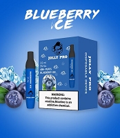 JOLLY PRO 600 Puffs 5% Disposable Bar Device 10ct/PK (Blueberry Ice)