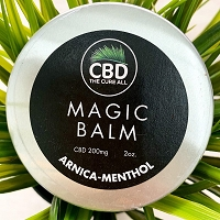 CBD The Cure All Magic Balm 200mg 2oz