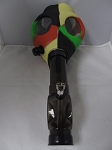 Multi Color Gas Mask W/ Plastic Pipe