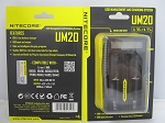 Nitecore UM20 Micro USB Digital Lithium Ion Double Battery Charger