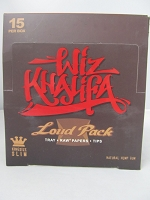 Wiz Khalifa The Loud Pack Raw King Size Slim Tray+Papers+Tips 15Booklets 32Leaves