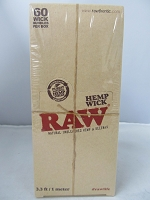 Raw Hemp 60 Wick Bundles 3.3ft