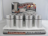 Aluminum Pill Box Container 2.7