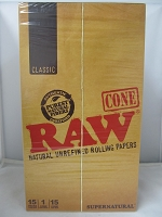 Raw Supernatural 12inch Cones 15ct
