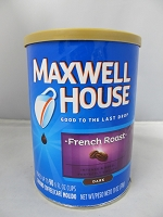 Maxwell House Coffee Safe Can