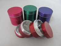 32mm Multi Color 4 Part Grinder