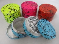 56mm Splash Color Art 4 Part Grinder