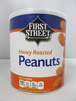 Honey Roasted Peanuts Stash Can