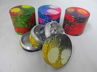42mm Splash Color Art 4 Part Grinder