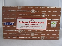 Nag Champa Golden Sandalwood 15g 12 Pack