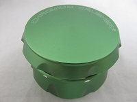 Chromium Crusher CNC Edge 63MM 4 Part (Green)