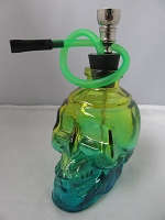 Large Skull Shape Water Pipe