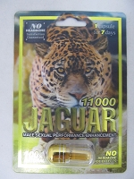 Jaguar 1100 All Natural in Acrylic Pill Container