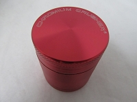 Chromium Crusher Red 42mm 4 Part Grinder