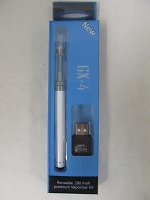 CBD Liquid Rechargable Vaporizer Kit (Glass Tank)