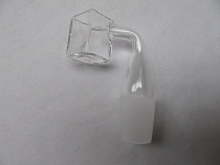 Ice Cube Style Banger Quartz Nail 19mm Male