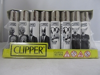 Clipper Refillable Lighter Doggies 48ct Display