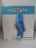 Neon 11X Butane 300ml 12ct