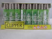 Clipper Refillable Lighter Mary Jane 48ct Display