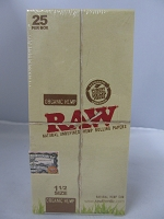 Raw Organic Hemp 1-1/2 Rolling Papers 25 booklets