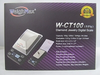 Weigh Max W-CT 100g 0.01g Stainless Steel Platform