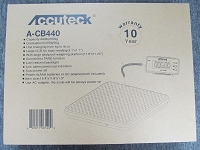 ACCUTECK A-CB440 440lb/200KG 0.05lb/50g Floor Scale by Weigh Max