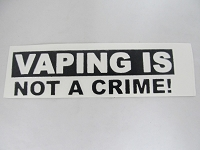 Vaping is Not A Crime!