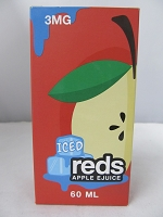 Iced Reds Apple E-Juice 3mg Nicotine 60ml