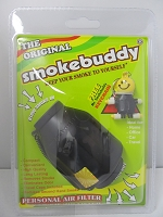 The Original Smoke Buddy Personal Air Filter Black