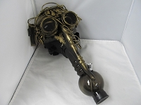Steampunk Gas Mask (LED Puzzle Goggles)