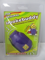 The Original Smoke Buddy Personal Air Filter Purple