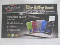 Weigh Max The Bling Scale BLG-1000-Blue 1000g x 0.1g