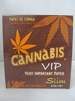 Cannabis VIP KS Slim 50 Booklets