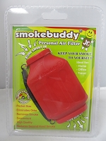 Smoke Buddy Junior Pocket Size Personal Air Filter (Red)