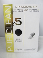 Puriclean X5 Double Strength 16oz Quick Cleanse Plus Optional 5 Day Cleansing