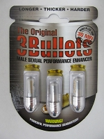 The Original 3 Bullets Silver