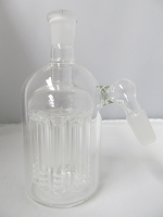 11 Arm 14mm Ash Catcher (Clear)