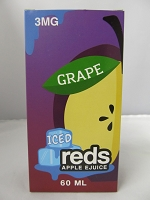 Iced Reds Grape E-Juice 3mg Nicotine 60ml