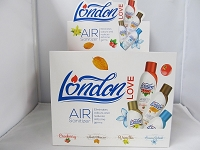 London Love Air Freshener 5 fl oz 12ct Mixed Scents