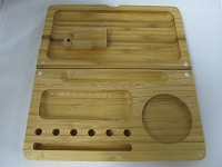 Large Bamboo Rolling Tray 8.75