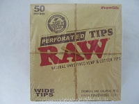 Raw Perforated Wide Tips 50ct