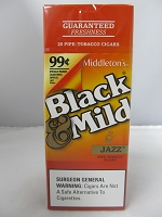 Black & Mild Jazz Cigars 25ct 99¢ Upright