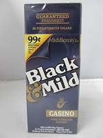 Black & Mild Casino Cigars 25ct 99¢ Upright