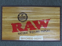 Raw Bamboo Door Mat 30
